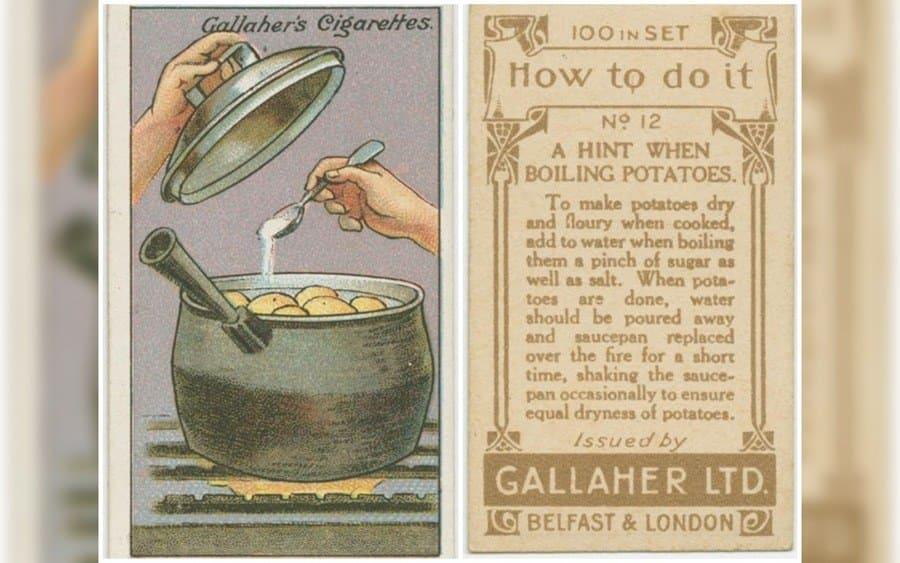Cooking potatoes hack