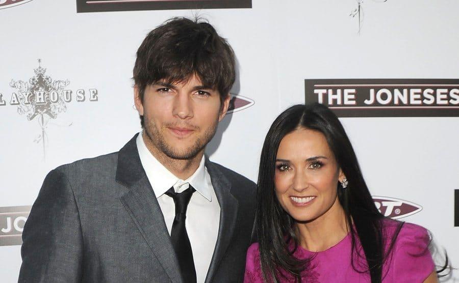 Ashton and Demi on the red carpet