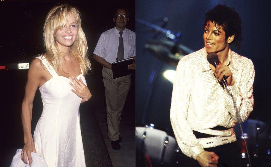 Pamela Anderson / Michael Jackson