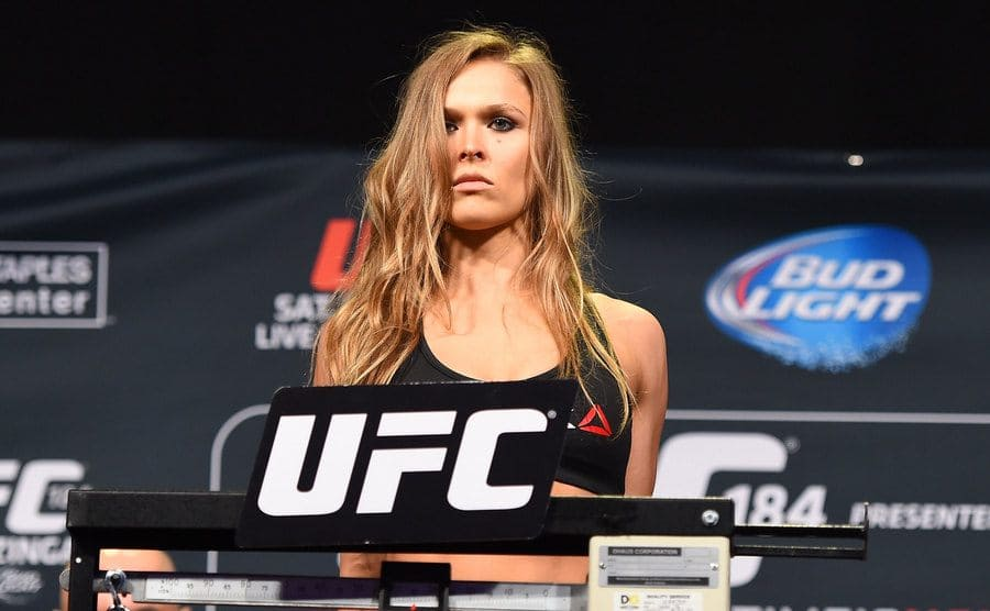 Ronda weighing in