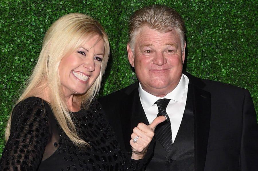 Laura Dotson and Dan Dotson attend the 20th annual Critics' Choice Movie Awards