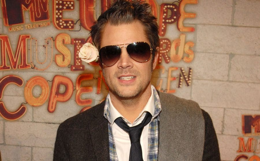 Johnny Knoxville on the red carpet in 2006