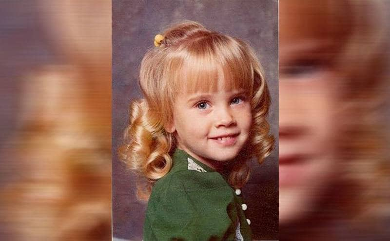 Jenny McCarthy in a childhood photograph