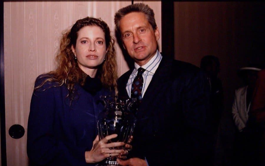 Diandra Douglas and her husband, Michael Douglas