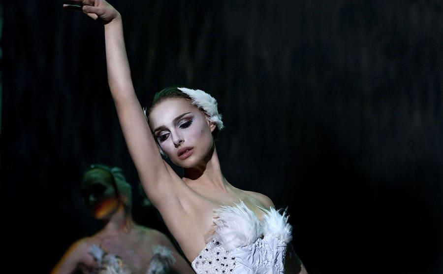 Natalie Portman dancing ballet