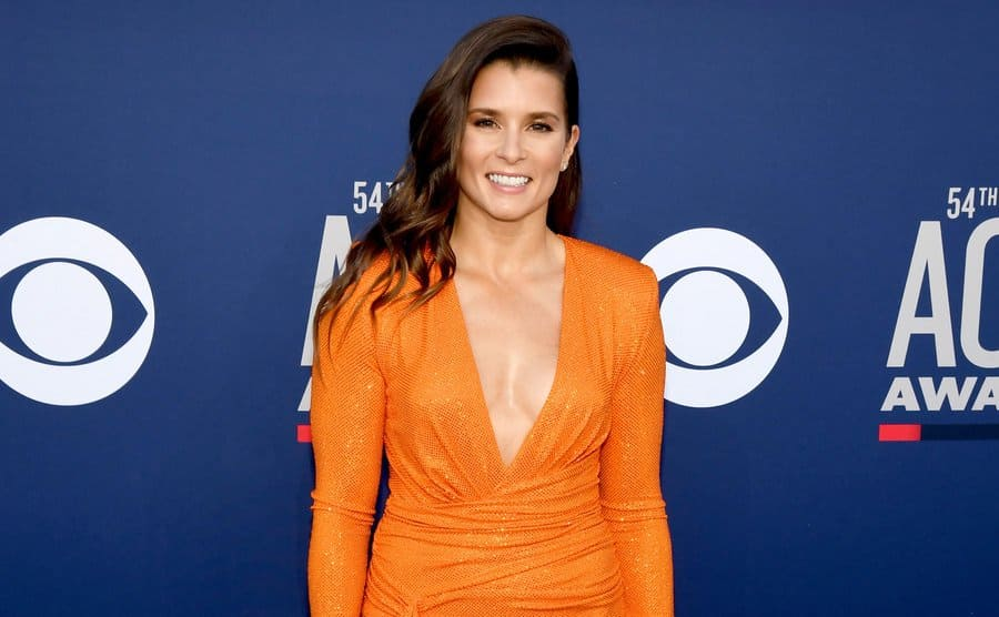 Danica Patrick on the red carpet