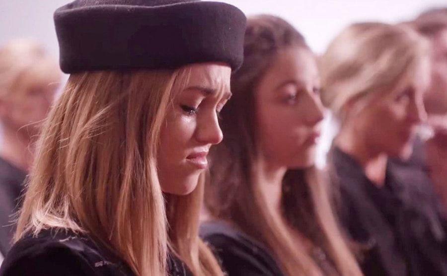 A still of Sadie in the film 'I'm Not Ashamed.'