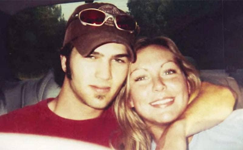 Jessica and her ex-husband.