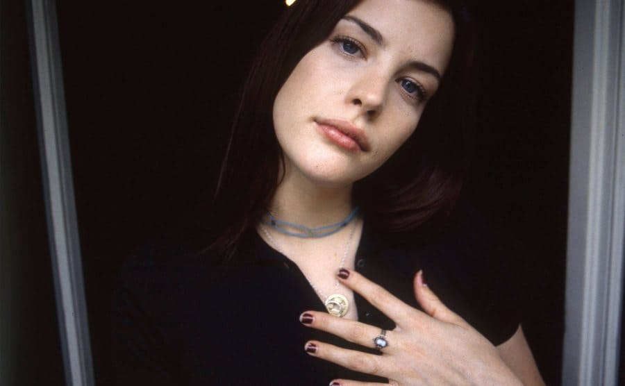 Liv Tyler, portrait session photo, London, United Kingdom, 1996.