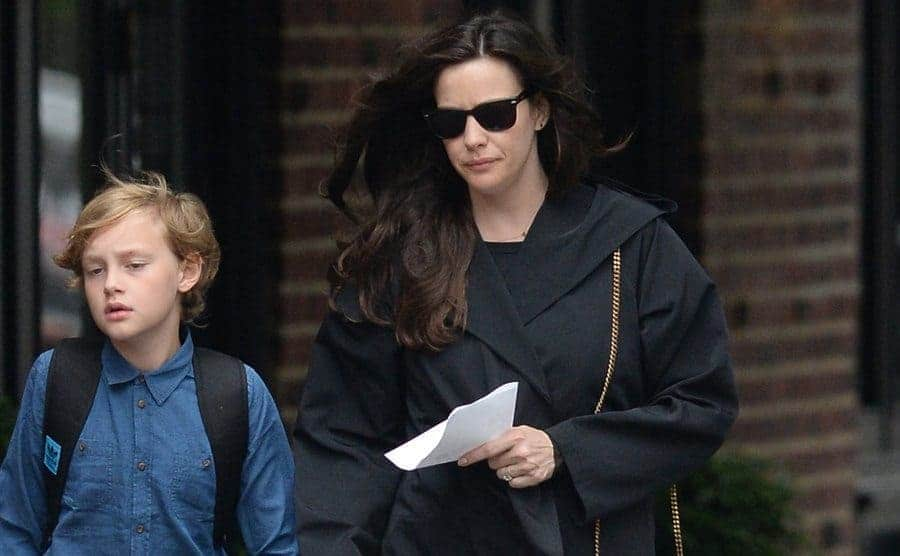Actress Liv Tyler and Milo are seen walking in SoHo on June 9, 2015 in New York City.