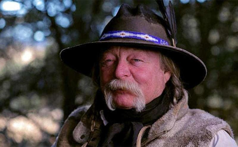 Hunter Kyle Bell on the show Mountain Men.