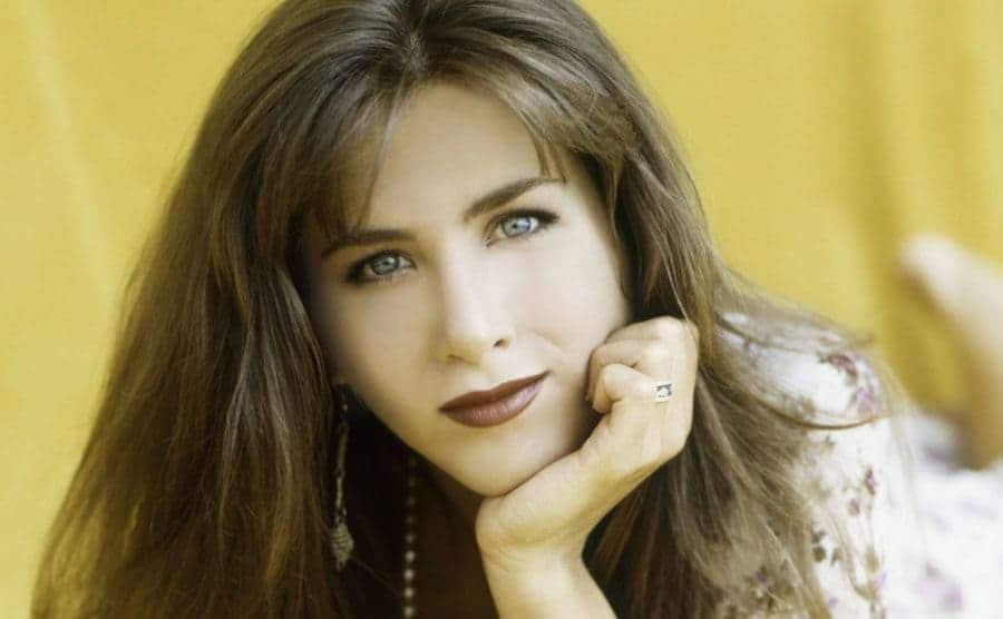 A headshot of Jennifer Aniston from 1981