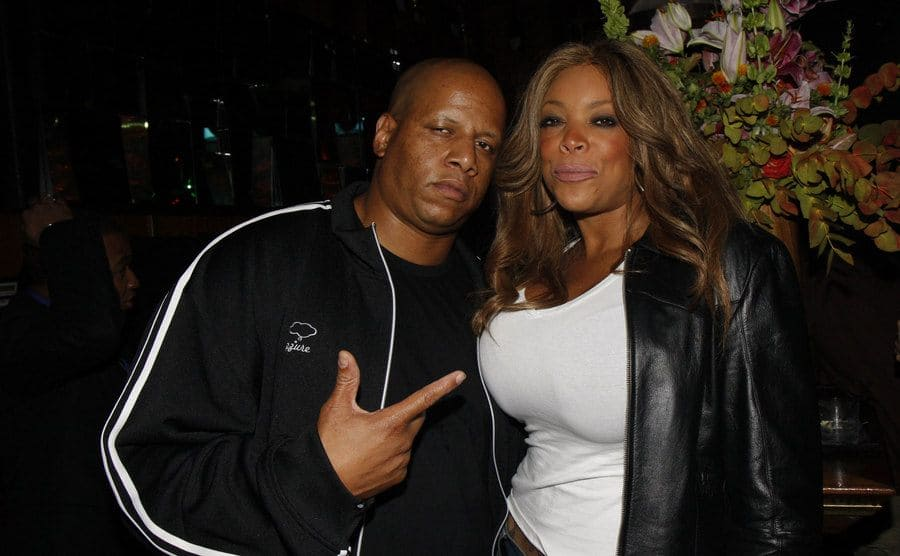 Kevin Hunter and Wendy Williams arriving to an event in 2008