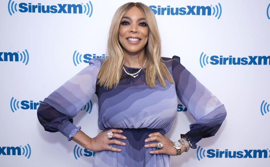 Wendy Williams on the red carpet in 2018