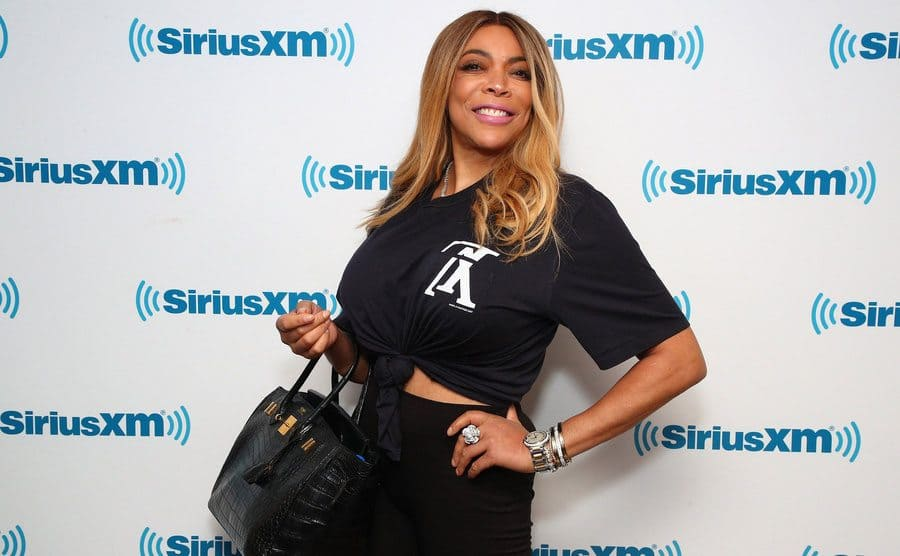 Wendy Williams on the red carpet in 2019