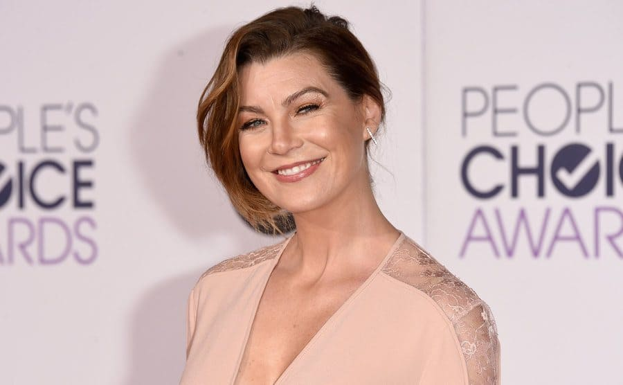 Ellen Pompeo on the red carpet