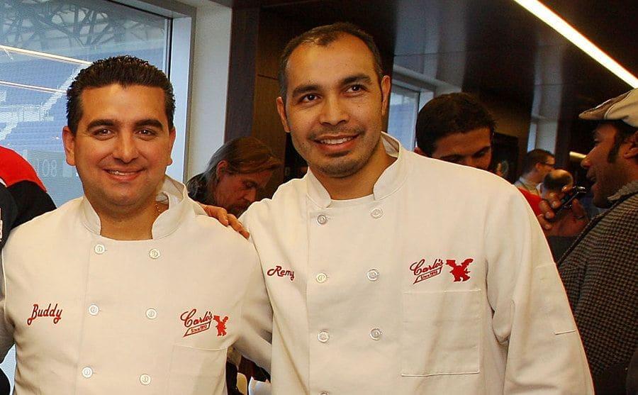 Buddy with Remy Gonzalez