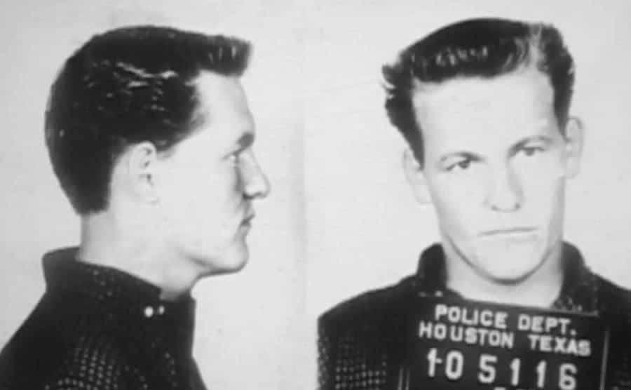A mug shot of Charles Harrelson, Woody Harrelson's father.