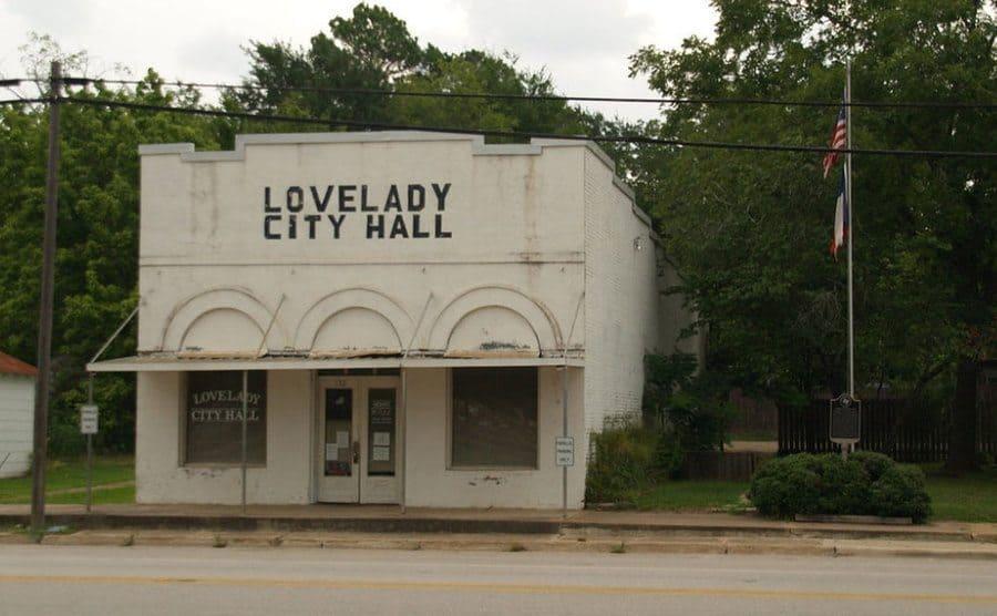 Lovelady City Hall.