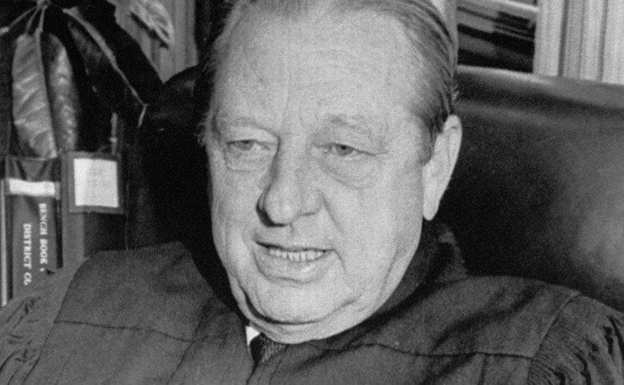 A photo of US District Judge John Wood Jr.