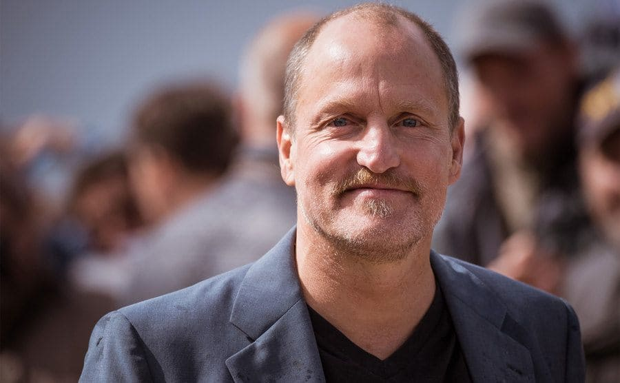 Woody Harrelson at an event.