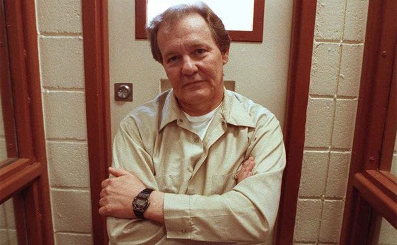 Charles Harrelson at the age of 65 in prison.