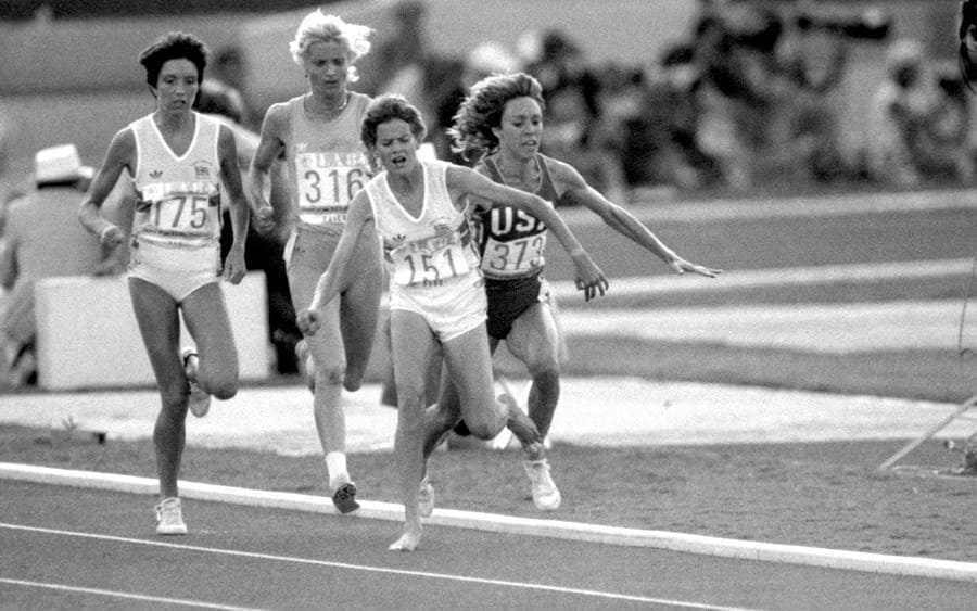 Los Angeles Olympic Games - Women's 3000m Final