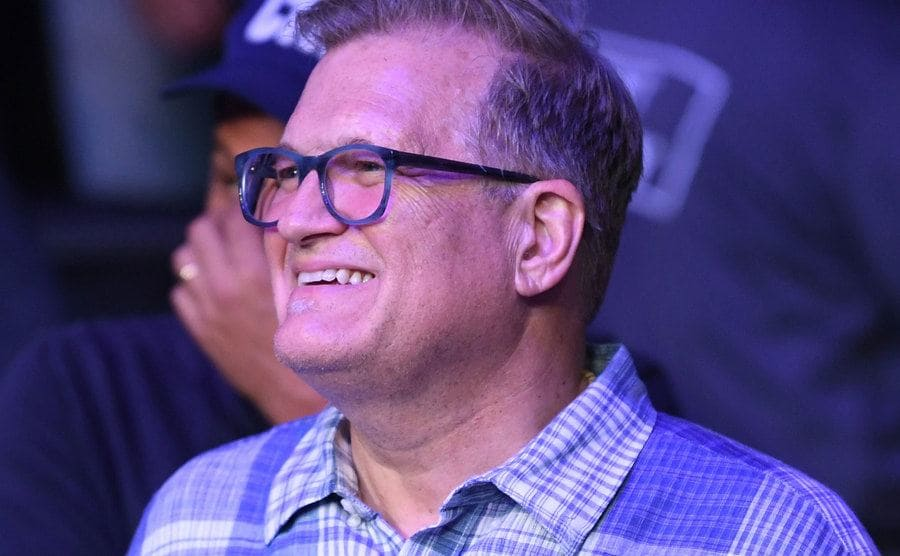 Drew Carey is attending the UFC 241 Event at the Honda Center.