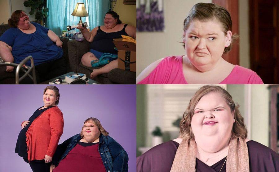 Amy and Tammy Slaton / Amy Slaton / Tammy and Amy Slaton / Tammy Slaton