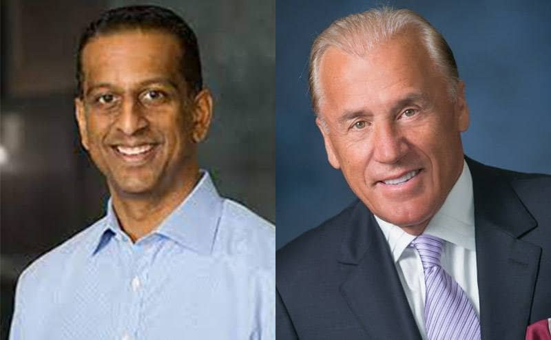 A photo of Andy Jhawar / A picture of Dean Metropoulos