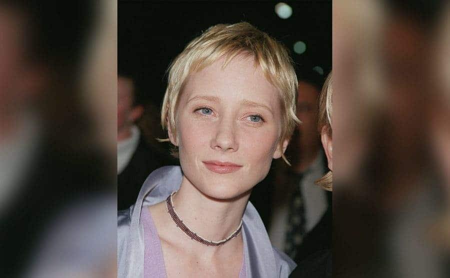 Portrait of Anne Heche.