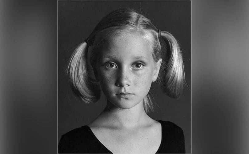 A photo of 6-year-old Anne.