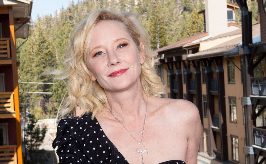 Anne Heche poses for portrait.