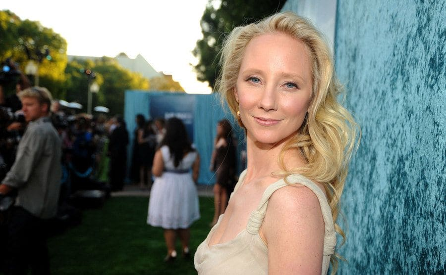 Anne Heche arrives at HBO's