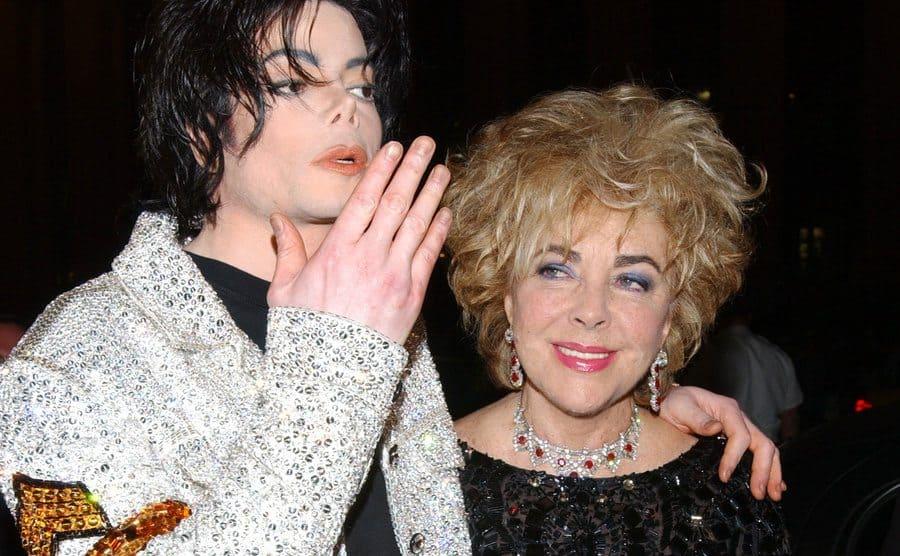Michael Jackson and Elizabeth Taylor.