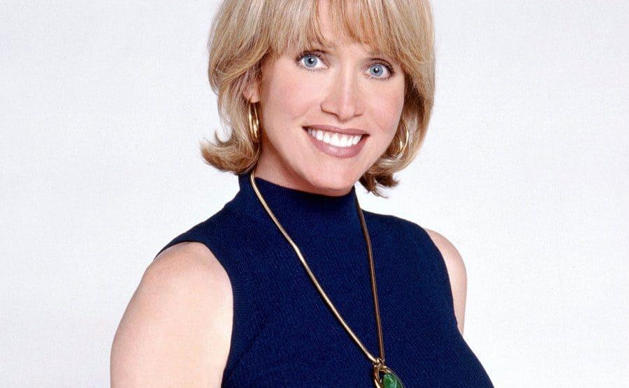 A portrait of Tanya Roberts as Midge.