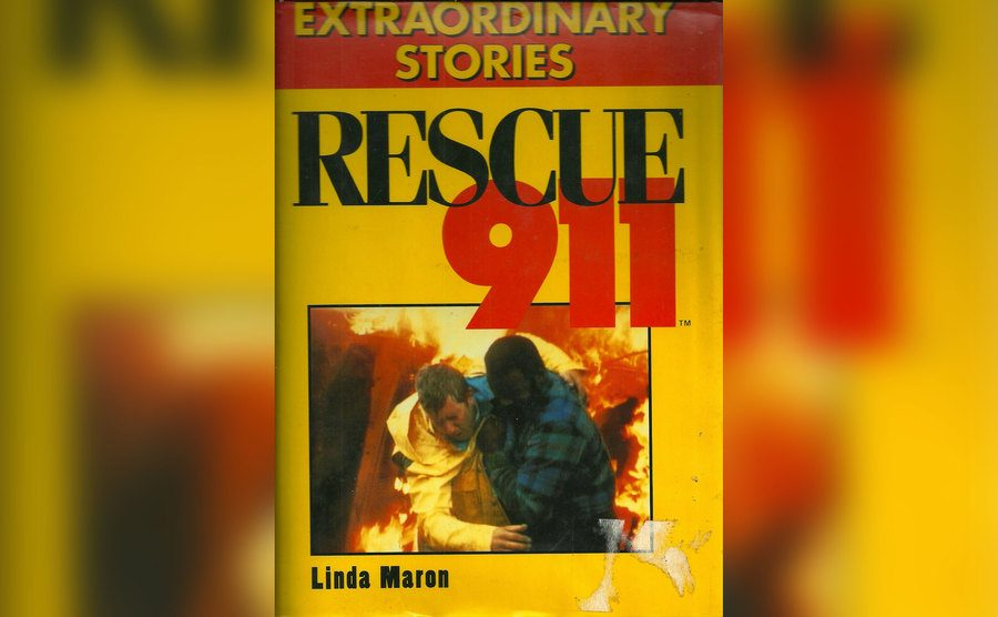 """A copy of the """"Rescue 911 Extraordinary Stories"""" book."""