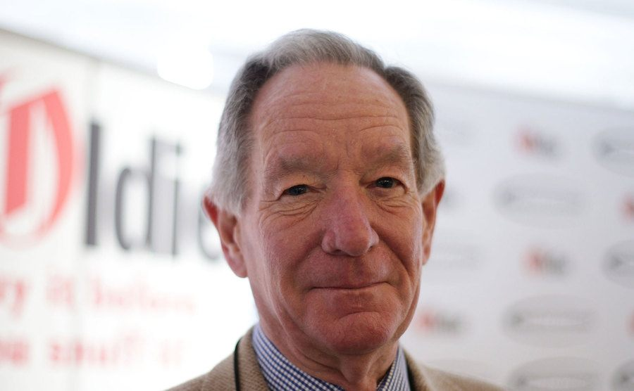 Michael Buerk attending The Oldie of the Year Awards.